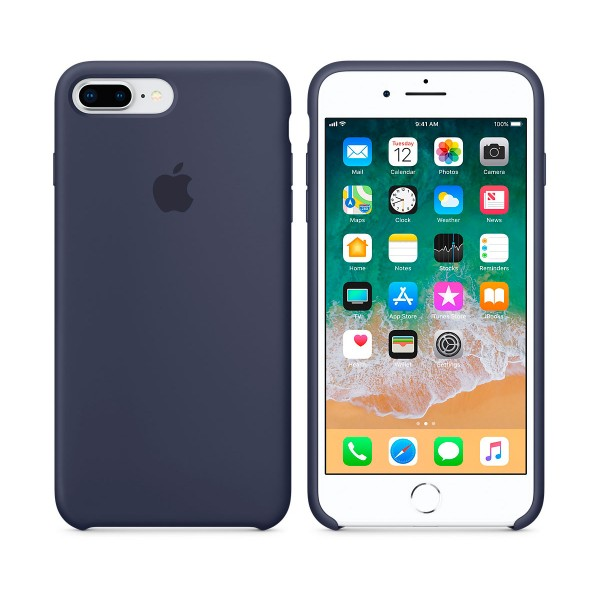 Apple mqgy2zm/a azul noche carcasa de silicona iphone 8 plus/7 plus