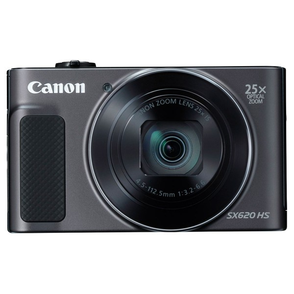 ¡OFERTA! Canon powershot sx620hs al mejor precio. Color negro, cámara compacta 20.2mp full hd 25x gran angular digic4+ wifi nfc