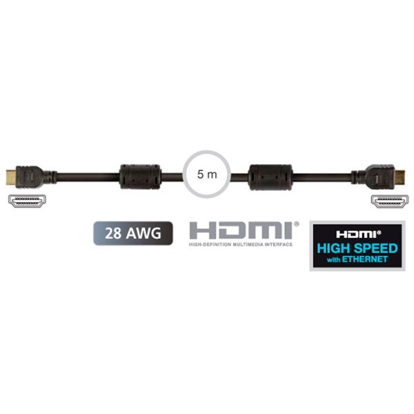 Fonestar 7908-5 cable hdmi macho a hdmi macho de 5 metros