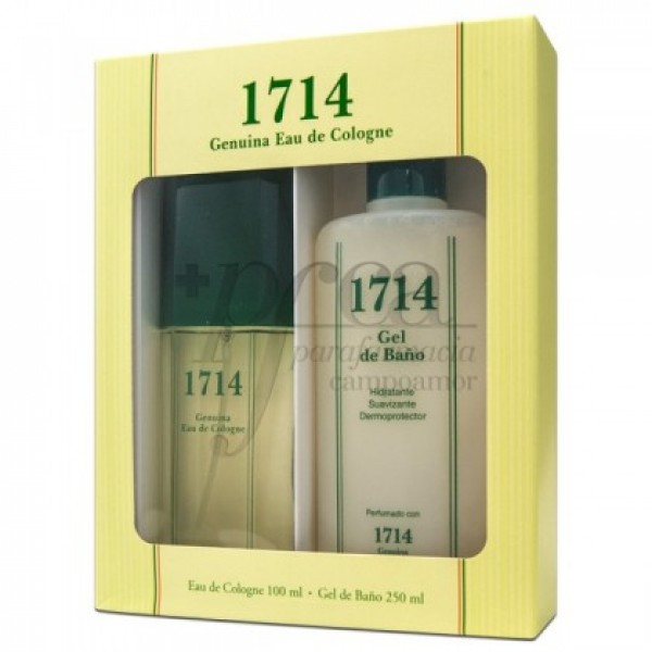 1714 COLONIA 100 ML + GEL BAÑO 250ML PROMO
