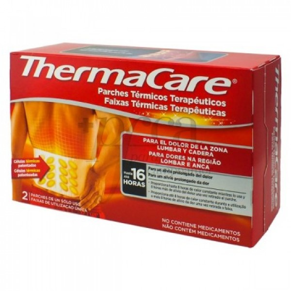THERMACARE LUMBAR 2 UNIDADES
