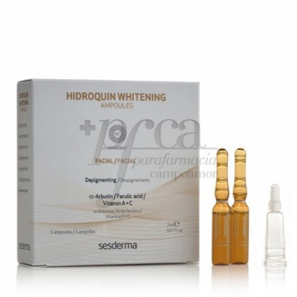 HIDROQUIN WHITENING AMPOULES 5X 2ML