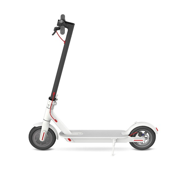 Patinete eléctrico XIAOMI MI ELECTRIC SCOOTER plegable color blanco
