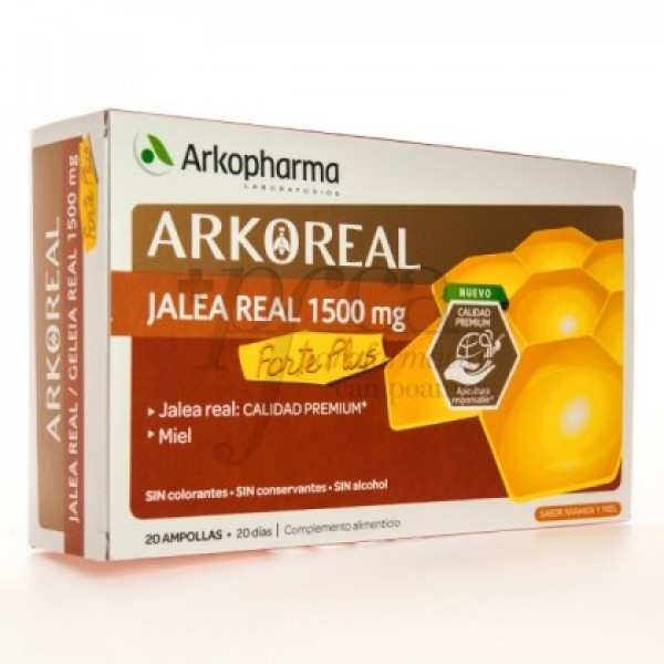 ARKOREAL JALEA REAL FORTE PLUS 1500MG 20 AMP
