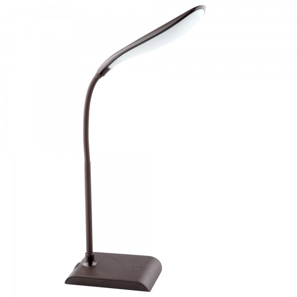 Lampara led 5w. oval marron