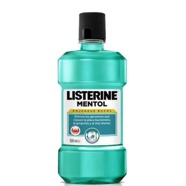 Listerine Enjuague Mentol 500 ml