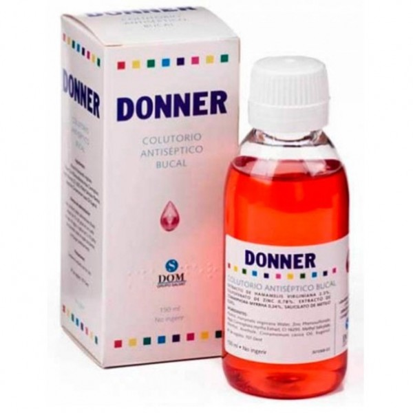 DONNER COLUTORIO ANTISEPTICO 150 ML
